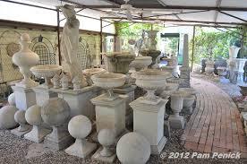 cement garden statues the gardens