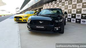 Mustang Yellow And Black 2016 Ford Mustang Gt First Drive Review