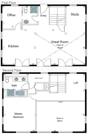 open loft house plans 127 best home plans images on small house plans