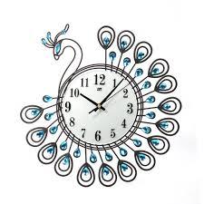 online get cheap peacock clocks aliexpress com alibaba group