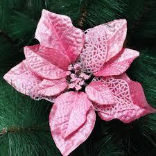 20cm artificial flowers poinsettia cheap