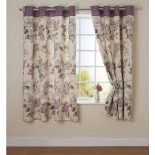 Grey Curtains Wilko Rose Print Eyelet Curtains Grey 228 X 228cm At Wilko Com