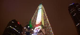 2016 circle of lights dazzles downtown indianapolis circle of