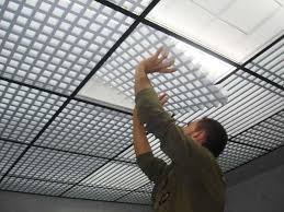 controsoffitto alluminio coki u appoggio base mm 10 controsoffitto grigliato in alluminio