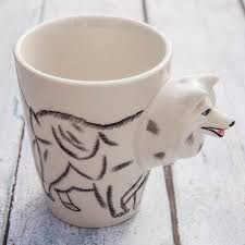 hand painted animal mugs by the gift oasis notonthehighstreet com