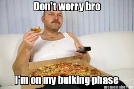 Bulking Memes - how to bulk correctly flexidiet
