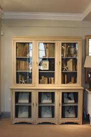 1920 S China Cabinet by Circa 1900 1920s Bleached Oak Glazed Bookcase Display Cabinet