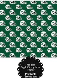 football wrapping paper new york jets football helmet digital paper printable treats