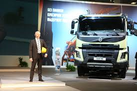 new volvo truck 2015 messe frankfurt and ite