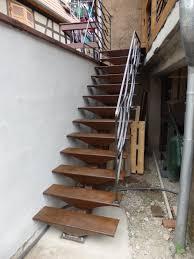 escalier peint 2 couleurs réalisations forge emmanuel fernex page 2