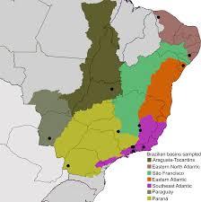Parana River Map Integrative Taxonomy Of Metrichia Ross Trichoptera Hydroptilidae