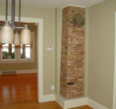 how to remove plaster from a brick chimney exposed brick