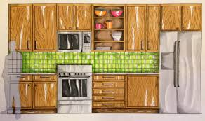 projects idea of kitchen elevation rendered kitchen and decoration