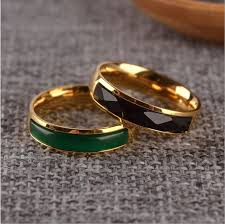aliexpress buy mens rings black precious stones real 103 best aliexpress acero de titanio images on jewelry