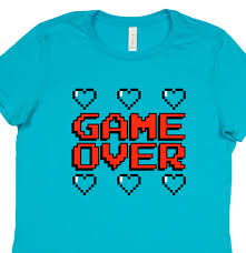 Game Over Meme - game over hearts women s t shirt from reason tee