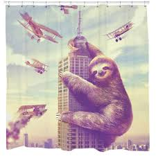 sloth shower curtains reviews online shopping sloth shower