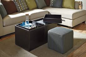 ottoman appealing large ottoman coffee table leather round