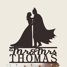 champagne silhouette bride and groom wedding cake topperbatman silhouettemr mrs