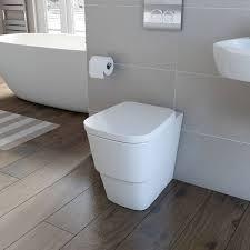 L Shaped Bathroom Suite Victoria Plumb Princeton Back To Wall Toilet Inc Luxury Soft