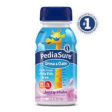 pediasure grow u0026 gain nutrition shake for kids chocolate 8 fl oz