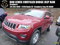 pink jeep grand cherokee 2015 deep cherry red crystal pearl jeep grand cherokee laredo 4x4