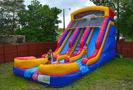 bounce house rental 18ft two slide bounce house rentals in miami fl s