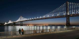Zoo Lights Oakland Ca by San Francisco U2013oakland Bay Bridge Visit California