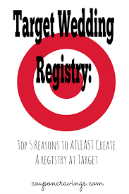 most popular wedding registry stores whether you plan to actually get gifts from target for your
