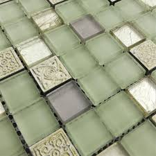 Online Get Cheap Green Tile Backsplash Aliexpresscom Alibaba Group - Green glass backsplash tile