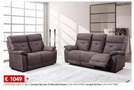 canape toff meubles toff promotion confortable salon en tissu canapé 3pl