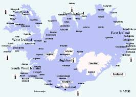 Iceland tourist travel information centres