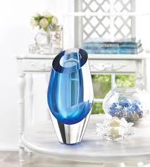 decorative glass vases glass vases modern blue colored flower vases decorative for