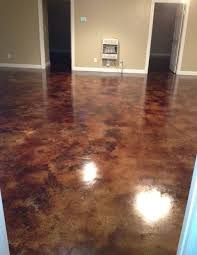 how to acid staining basement floors direct colors inc