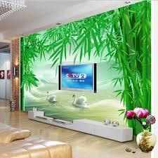 aliexpress com buy shinehome large custom 3d wallpapers bamboo