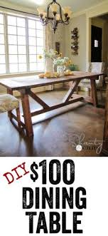 Epic DIY Dinning Table Projects For Your Home DIY Projects - Farm dining room tables