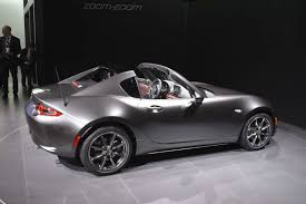 mazda 3 convertible 2017 mazda mx 5 gets hard for nyc calls itself the rf