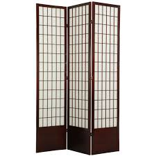 Asian Room Dividers by Oriental Furniture Double Cross Shoji Screen Room Divider 84
