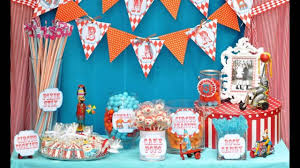How To Decorate Birthday Party At Home by Best Carnival Birthday Party Decorations Ideas Youtube