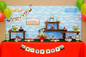 now launching an angry birds inspired boy s birthday