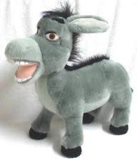 donkey shrek stuffed animals ebay