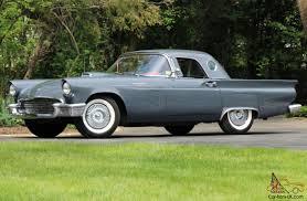 ford thunderbird original gunmetal gray color code car