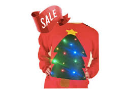 christmas tree sweater with lights light up ugly christmas sweater cute reindeer also