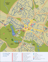 map of st albans exploring verulamium the city of st albans uk following