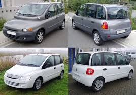 fiat multipla you think the pt cruiser is bad the fiat multipla looks like its