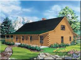 ranch log home floor plans satterwhite log homes the texan w loft