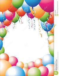 free balloons balloon border royalty free stock image image 22865696