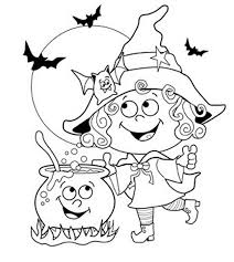 6 lovely free printable halloween coloring pages kids