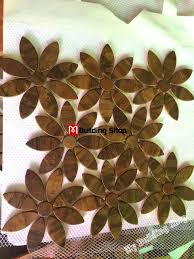 Online Get Cheap Gold Kitchen by Bathroom Amazing Online Get Cheap Flower Wall Tiles Alibaba