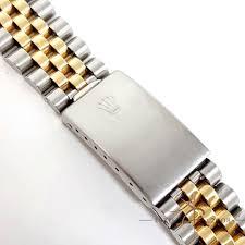 rolex jubilee bracelet two tone 18k gold steel 62523h steelinox