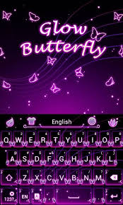 keyboard themes for android free download glow butterfly keyboard theme free android keyboard download appraw